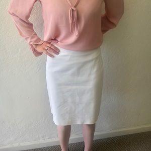 Nice white Ann Taylor pencil skirt